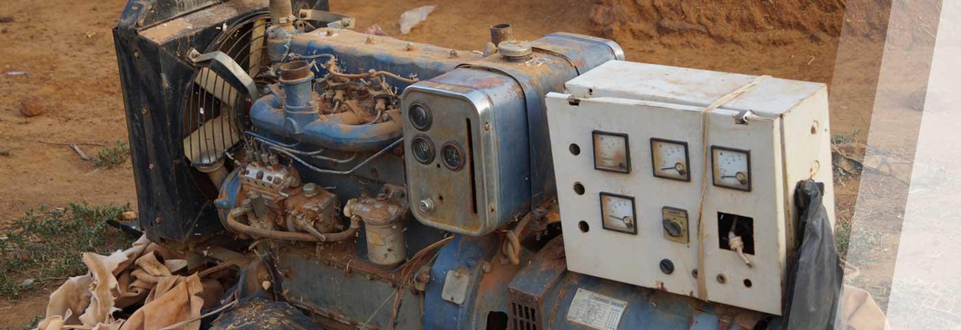 Alter Dieselgenerator